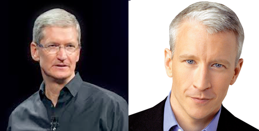 tim cook and anderson