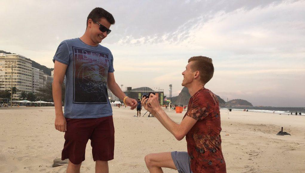 Gay British Olympian Tom Bosworth Proposes to Boyfriend at Rio Games