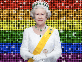 Queen Elizabeth just gave a secret wink to the gays for Pride month